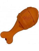 Hartz,игрушка Ракета из латекса с пищалкой для крупных собак,с ароматом бекона