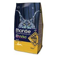 Monge BWild Adult, корм для взрослых кошек с диким зайцем,уп.1.5 кг.