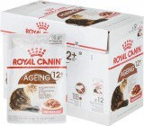 Royal Canin Ageing +12, Роял Канин кусочки в соусе для кошек старше 12 лет, уп. 12шт* 85 гр