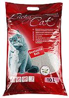 Lucky Cat комкующийся наполнитель с ароматом жасмина,10л(8кг.)