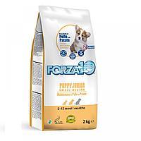Forza10 Puppy Junior Medium&Large,сухой корм для щенков средних и крупных пород с курицей,уп.15 кг.
