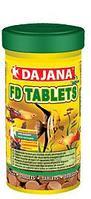 Dajana FD Tablets,корм в виде клеящихся таблеток для всех видов тропических рыбок,уп.25 гр.