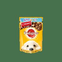 Pedigree,влажный корм для щенков с говядиной в соусе,85гр.