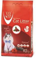 Van Cat Natural Classic,комкующийся наполнитель для кошек,уп.10 кг.