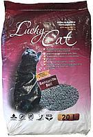 Lucky Cat комкующийся наполнитель без ароматизатора,20л(16кг.)
