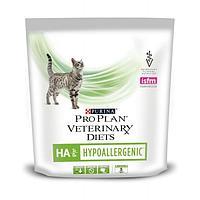 Pro Plan vet Feline HA Hypoallergenic,диетический корм для снижения аллергических реакций у кошек,уп.325 гр.