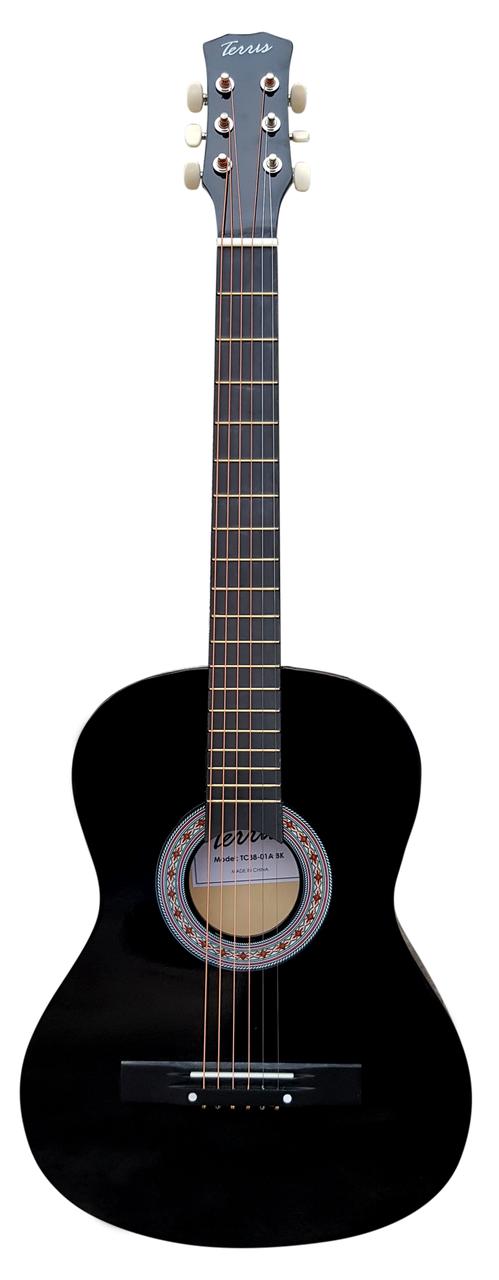 TERRIS TF-3802A BK - Гитара акустическая