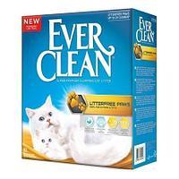 Ever Clean LitterFree Paws,комкующий наполнитель для длинношерстных кошек,уп.10л.