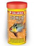 Dajana Cichlid Pellets,корм для маленьких и средних рыб семейства цихлид,уп.25 гр.