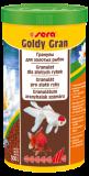 Sera Goldy Gran,для кормления более крупных золотых рыбок,уп.25 гр.