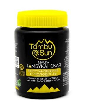 Тамбуканская грязевая маска «Молодость и восстановление», 100мл