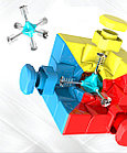 Профессиональный Кубик Рубика 3 на 3 MoYu Meilong в цветном пластике, фото 8
