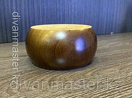 Ножка мебельная, деревянная, 5 см, гевея