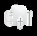 Комплект Hub Kit Plus белый  (Hub-1шт, MotionProtect-1шт, DoorProtect-1шт, SpaceControl-1шт)