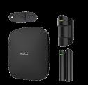 Комплект Hub Kit Plus черный  (Hub-1шт, MotionProtect-1шт, DoorProtect-1шт, SpaceControl-1шт)