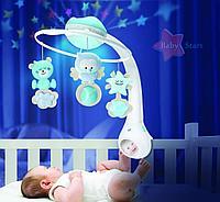 Музыкальный мобиль-проектор 3 в 1 Infantino, фото 1