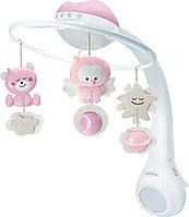 Музыкальный мобиль-проектор 3 в 1 Infantino розовый, фото 1