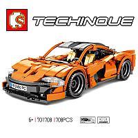 Конструктор гиперкар McLaren P1 701708 Sembo Block 708 деталей, фото 1