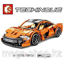 Конструктор гиперкар McLaren P1 701708 Sembo Block 708 деталей