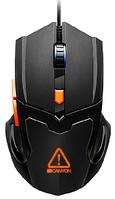 Мышь игровая Canyon CND-SGM02RGB (Black-Orange), фото 1
