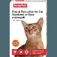 FLC Cat (Diaz Cat) Ошейник от блох и клещей для кошек оранжевый., 35 см