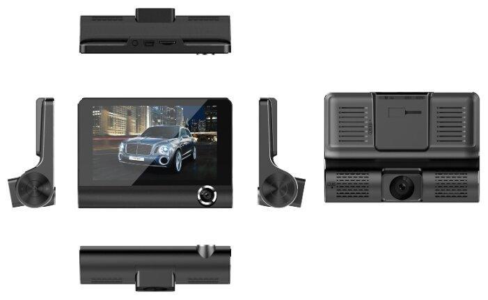 Автомобильный видеорегистратор с тремя камерами c9 - фото 3