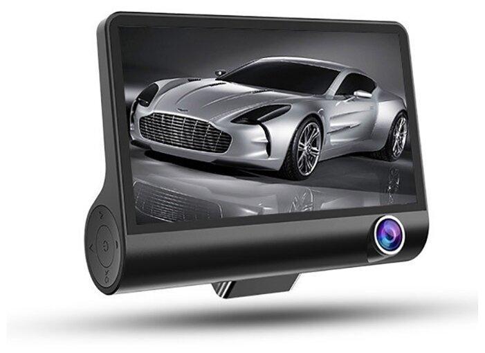 Автомобильный видеорегистратор с тремя камерами c9 - фото 1