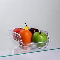 Органайзер для холодильника 32,5х15х8 см, цвет прозрачный