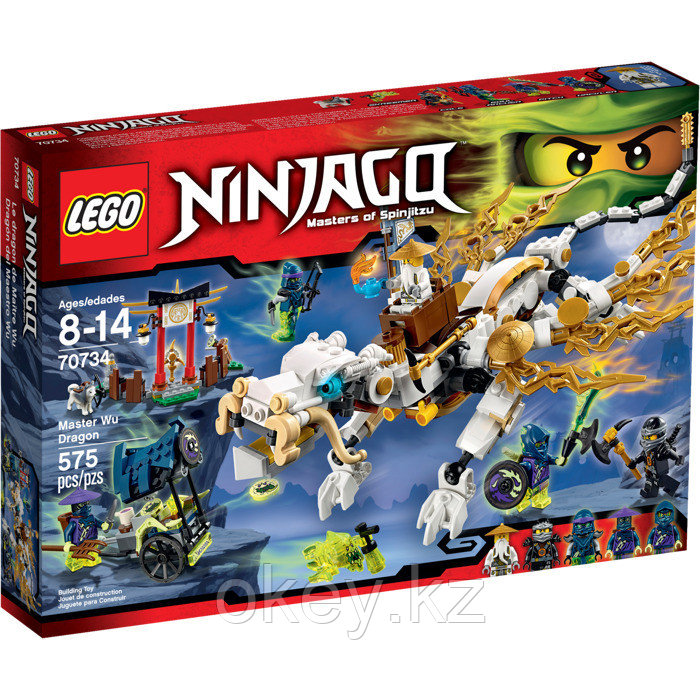 LEGO Ninjago: Дракон Сэнсэя Ву 70734
