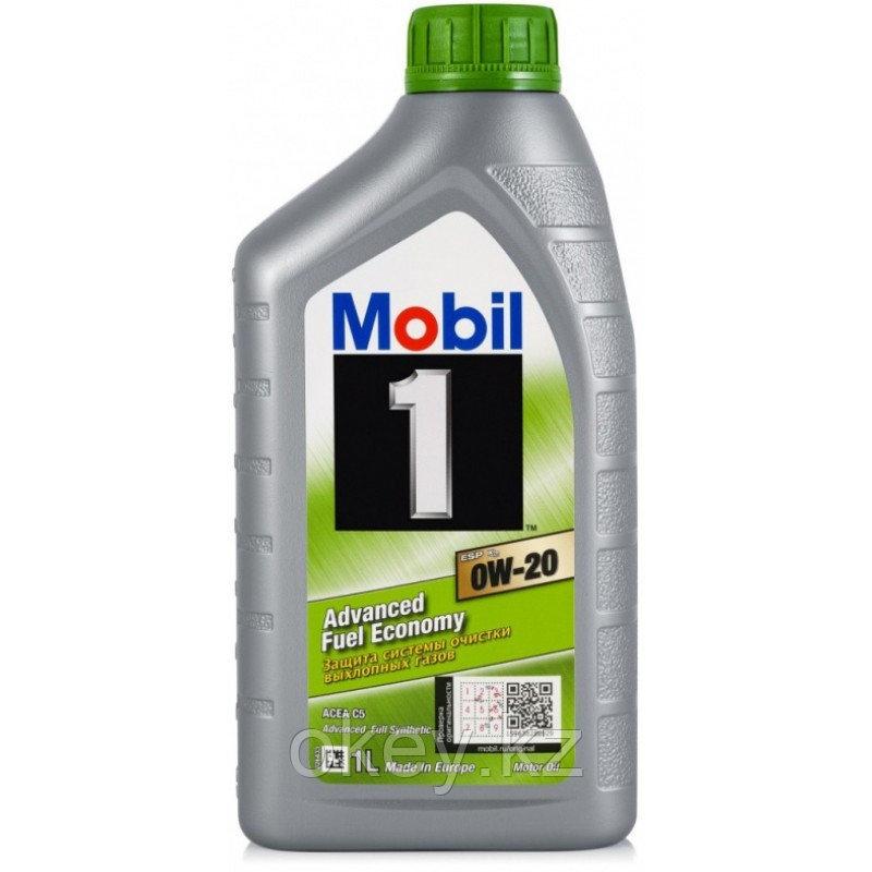 Моторное масло Mobil 1  ESP X2 0W-20, 1л. 153790
