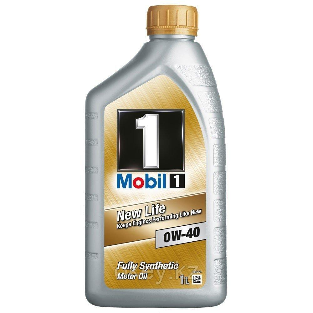 Моторное масло Mobil 1 New Life 0W-40, 1л. 153691