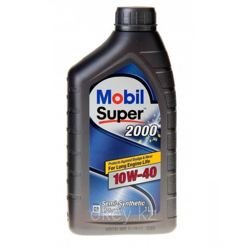 Моторное масло Mobil Super 2000 X1 10W-40, 1л. 152569