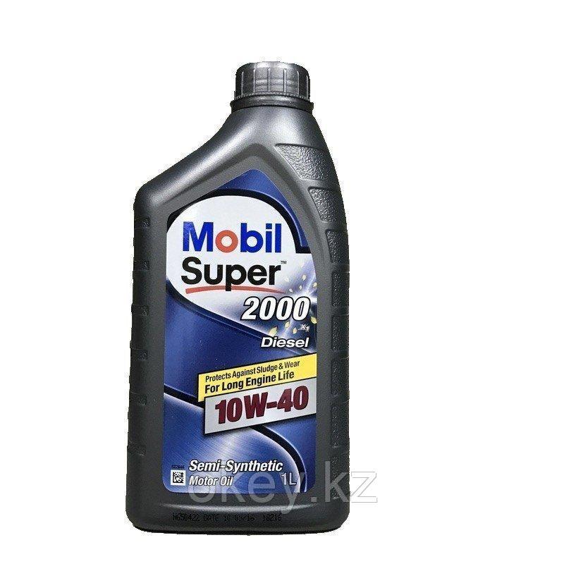 Моторное масло Mobil Super 2000 10W-40 X1 Diesel, 1л. 152627
