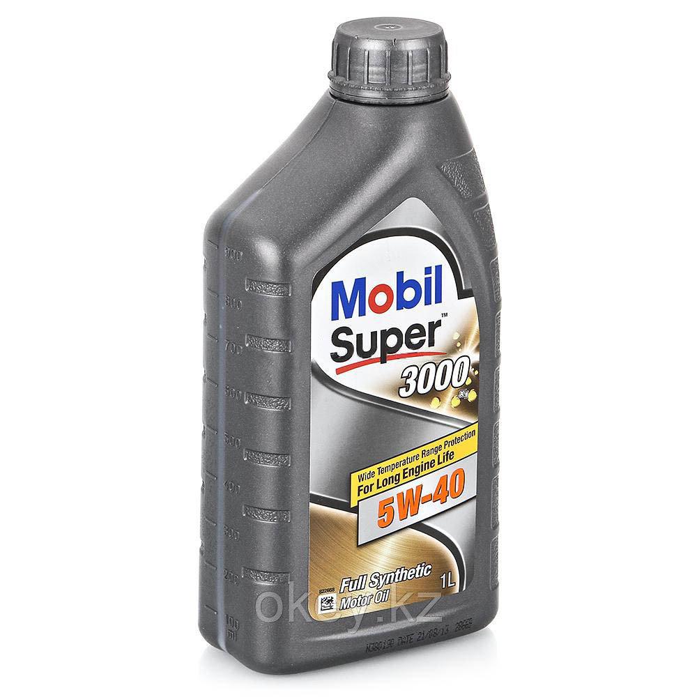 Моторное масло Mobil Super 3000 X1 5W-40, 1л. 152567
