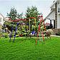 Детский спортивный комплекс уличный «Игромания-2 Футбол» КМС-402, 2700 × 3100 × 2200 мм, фото 5