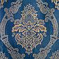 Штора портьерная Этель «Версаль» 160×270 см, цвет синий, 100% п/э, фото 2