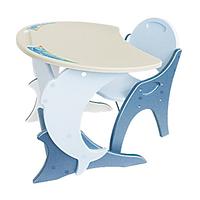 """Набор детской мебели """"Дельфин"""" (стол и стул) с регулировкой наклона столешницы"""