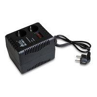 Стабилизатор (AVR), SVC, AVR-1005-G, Мощность 500ВА/300Вт, Диапазон работы AVR: 178-288В, 2 вых. Shuko CEE7,