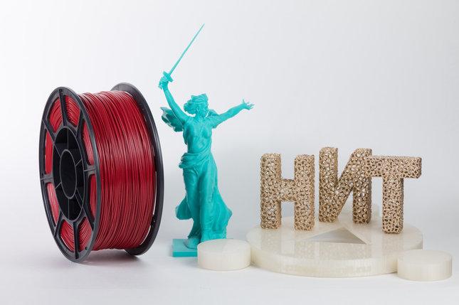 """Пластик для 3D печати """"НИТ"""", ABS Вишня, фото 2"""