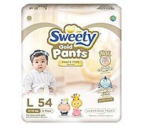 Трусики Sweety L (11-15кг) 54 штуки
