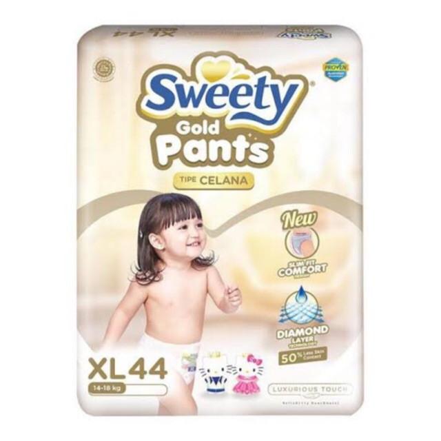 Трусики Sweety XL (14-18кг) 44 штуки