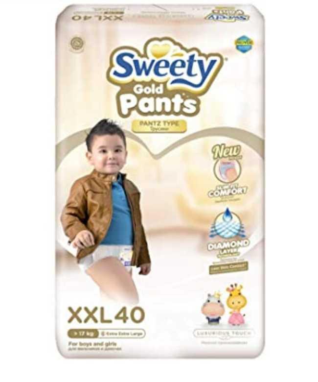 Трусики Sweety XXL (17-25кг) 40 штук