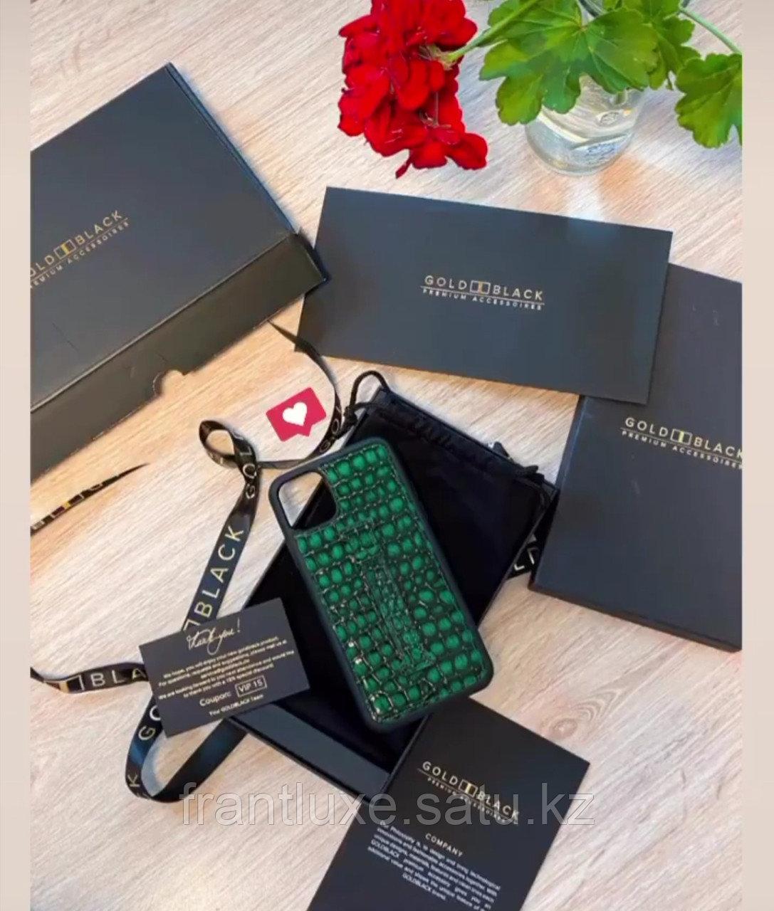 Чехол для телефона iPhone 11 Pro Max Finger-holder Green - фото 7
