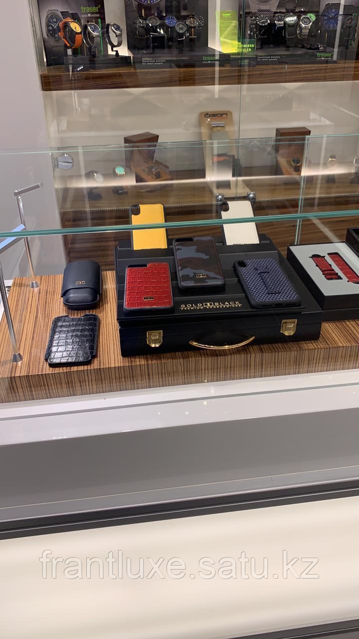 Чехол для телефона iPhone 11 Pro Max Finger-holder Black - фото 8