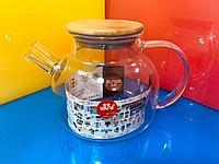 Огнеупорный чайник YOUTE GLASS 1000ml