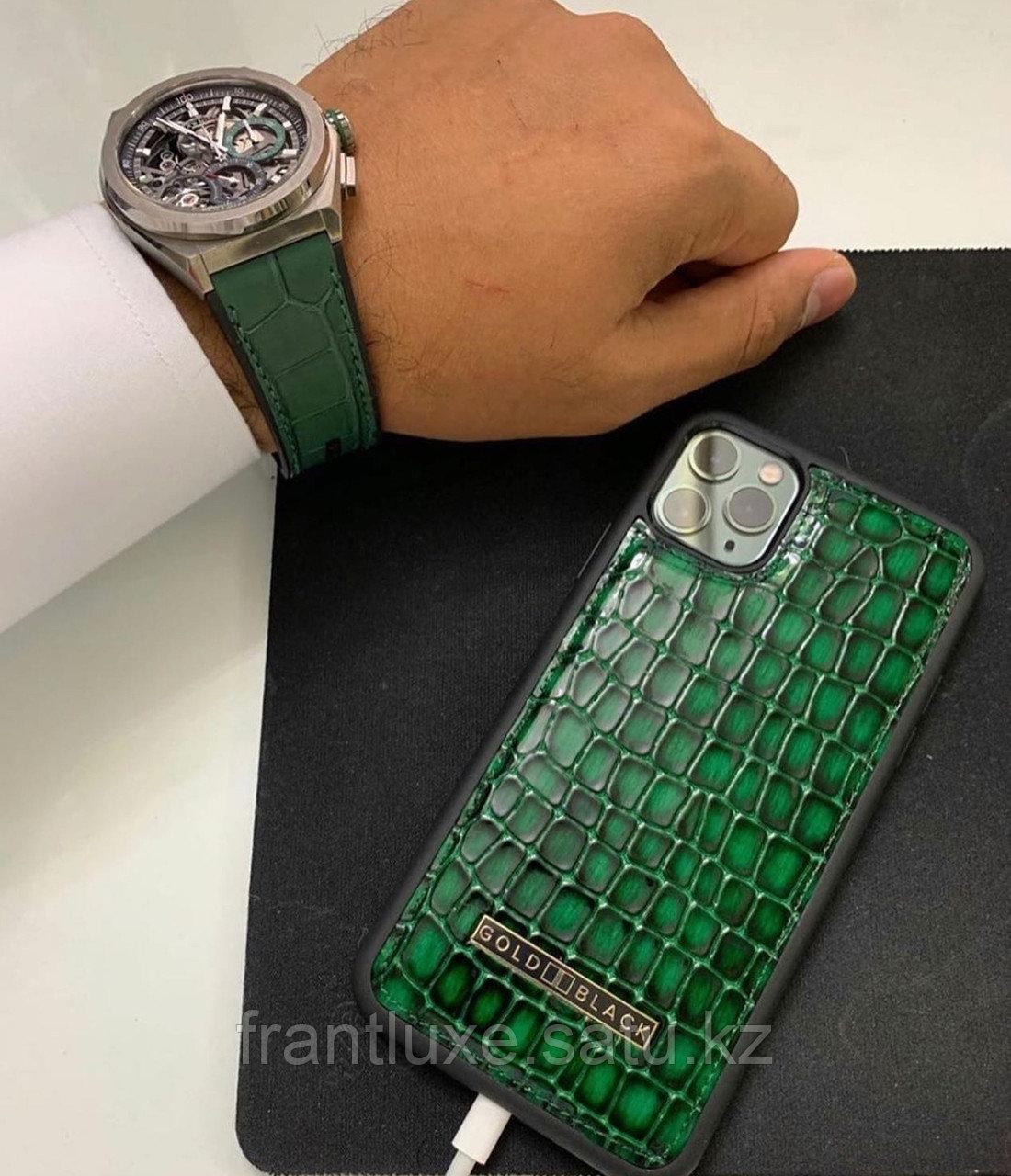 Чехол для телефона iPhone 11 Pro Max Green - фото 3