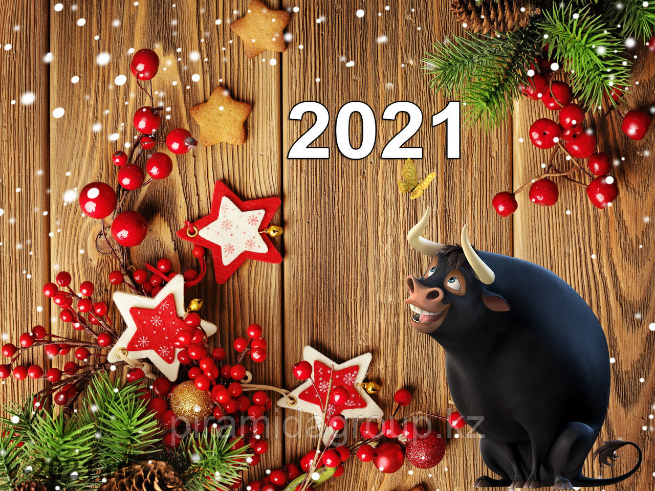 Изготовление новогодних открыток по индивидуальному заказу