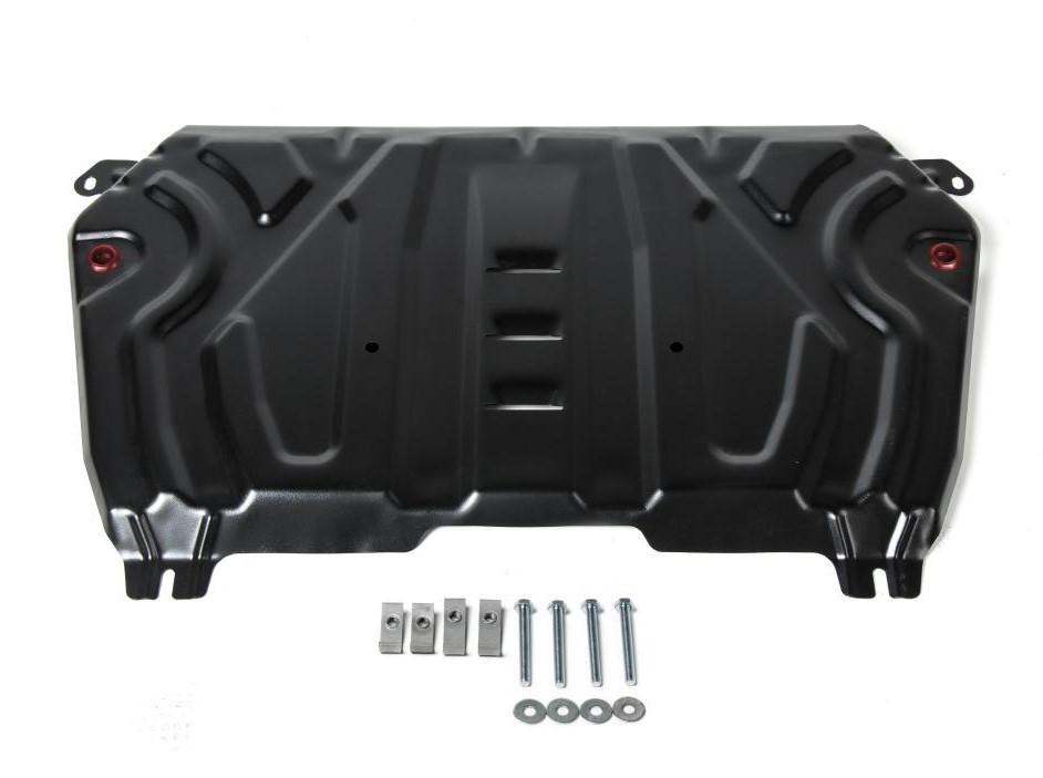 Защита картера + КПП + комплект крепежа, Toyota Camry 2018-,V2.0;2.5,3.5/Lexus ES 2018-,V2/2,5