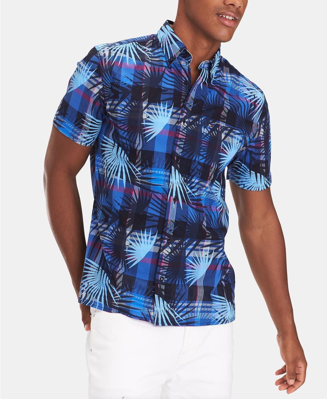 Tommy Hilfiger Мужская рубашка -Т1