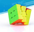 Профессиональный Кубик Рубика 3 на 3 Qiyi Cube в цветном пластике. Оригинал, фото 4